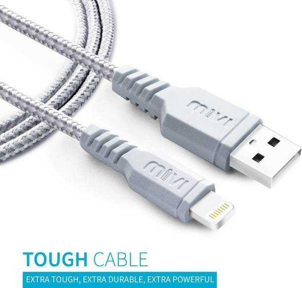 Mivi LC3B-SL 3.2 ft (1 mt) Mfi certified 1 m Lightning Cable
