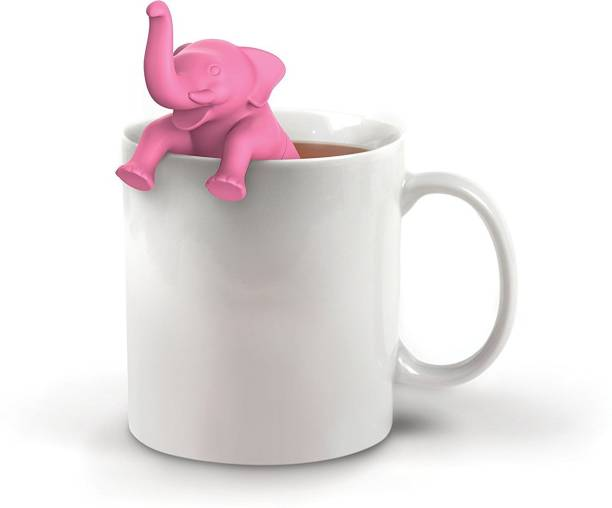 RIANZ Silicone Tea Infuser Tea Infusion Tea Strainer Filter Shaped Funny Cute Tea Infuser Green Tea Infuser (Big Brew) Tea Strainer
