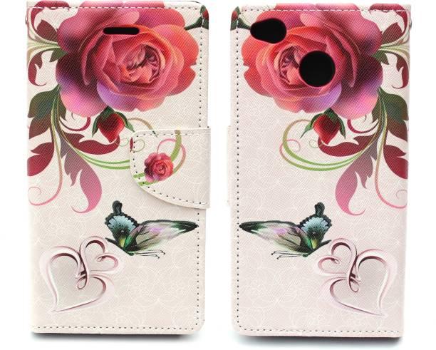 Fashion Flip Cover for Mi Redmi 4