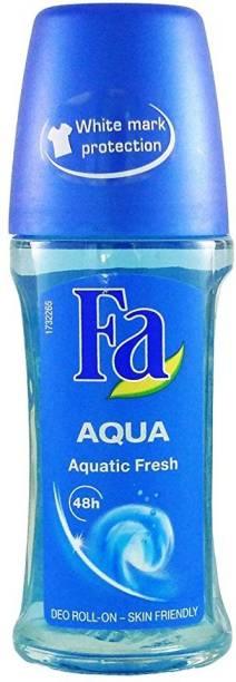 FA Aqua Aqua Aquatic Fresh 48h Deodorant Roll On Deodorant Roll-on  -  For Men & Women