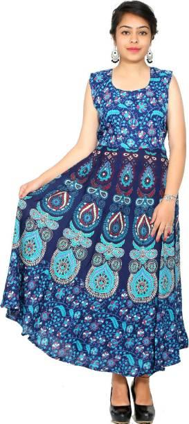 c361993861b Unikstop Women s Maxi Multicolor Dress