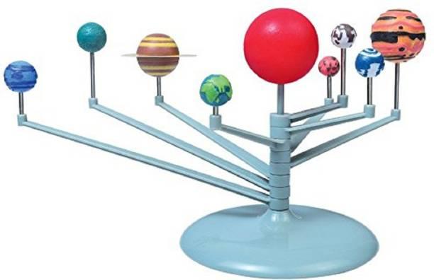 Pepperonz DIY Glow In The Dark Solar System Planetarium Model Kids Science Kit