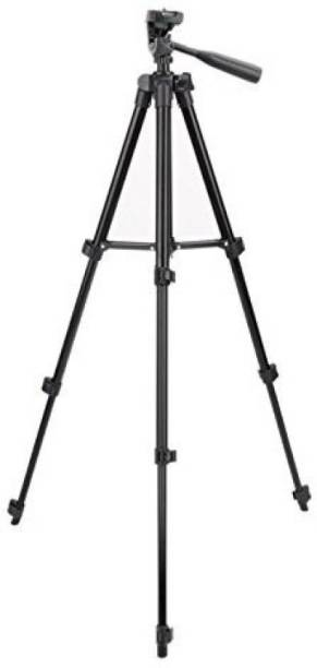 SPRING JUMP TF 3120 Black Tripod for Mobile and Camera with Mobile holder Tripod