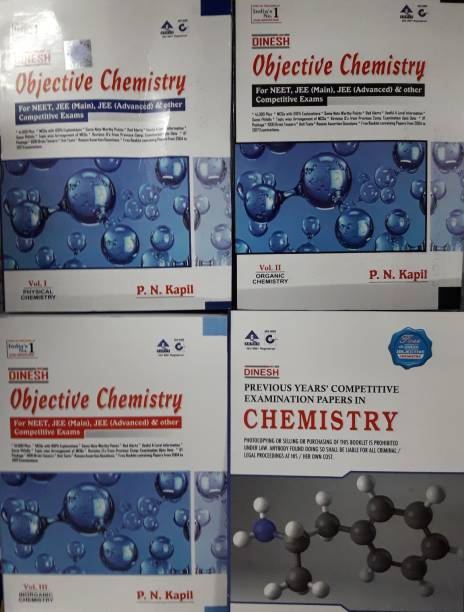 DINESH OBJECTIVE CHEMISTRY FOR NEET,JEE (MAIN),JEE (ADVANCED) & OTHER COMPETITIVE EXAMS