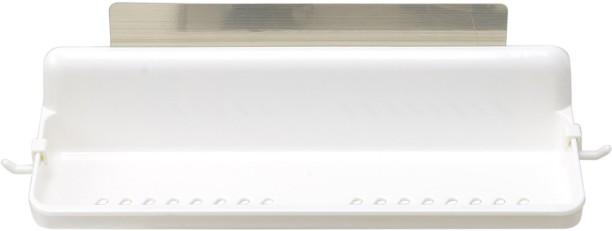 HOKIPO Magic Sticker Series Self Adhesive Kitchen Bathroom Shelves Plastic  Wall Shelf