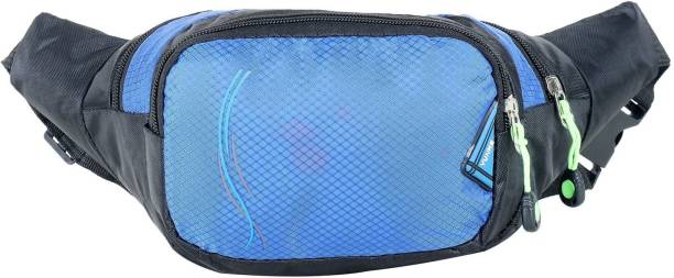 f8bb4250235d Sri fancy Design Unisex Lining Waist Bags for Men Women Workout Travel 0.5  Ltr Waist Bag