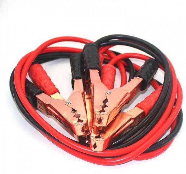 AutoTrends 2 Meters 500 AMP Car Booster Battery Line Car Jumping Cables 6 ft Battery Jumper Cable