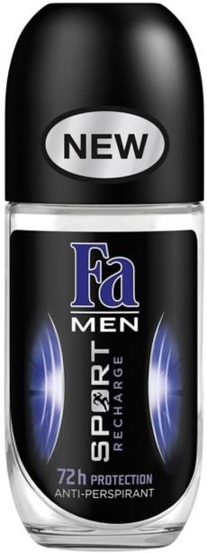 FA Men Sport Recharge 72h Protection Roll On Deodorant Roll-on  -  For Men