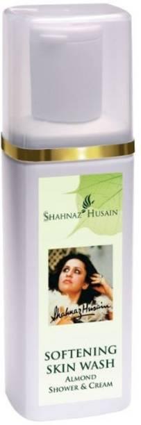Shahnaz Husain Softening Skin Wash Almond Shower & Cream Face Wash