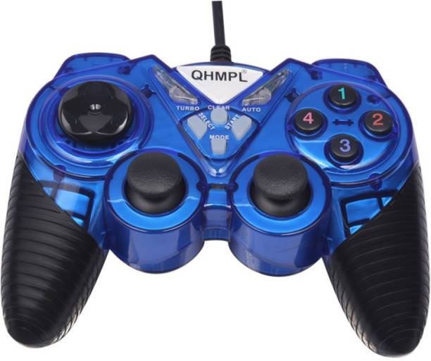 QHMPL QHM7487-2V USB GAMEPAD With 2 Way Vibration / Shock Function Joystick