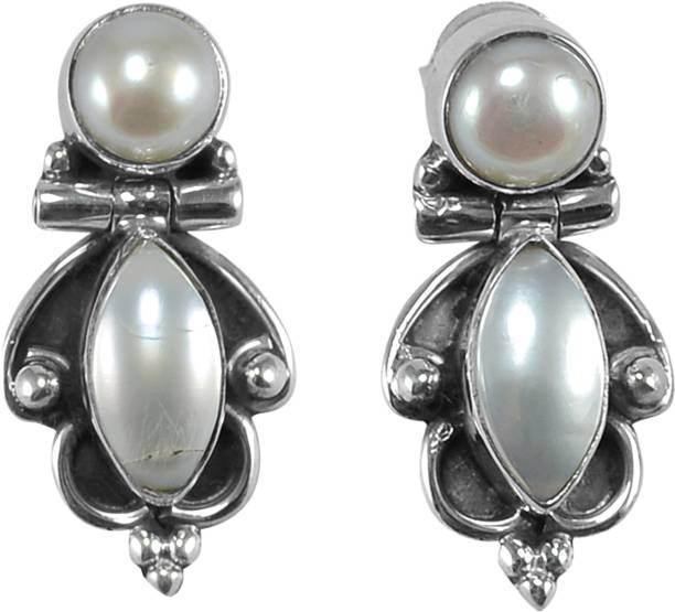 3cc1e646ad7 Silver Earrings - Buy Silver Earrings Online At Best Prices in India ...