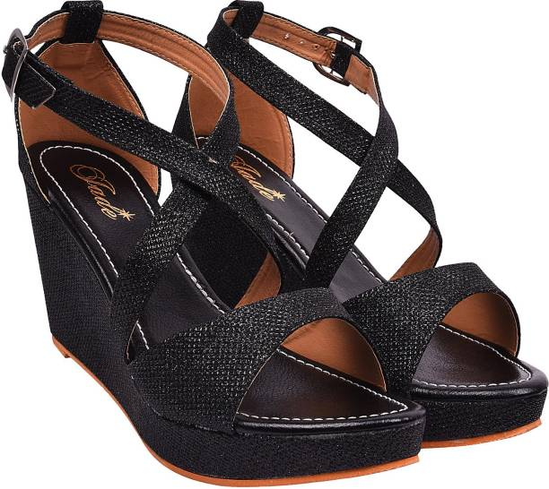 f2eeca54c Women's Wedges Sandals - Buy Wedges Shoes Online At Best Prices In ...