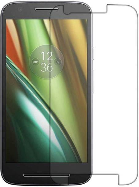 EASYBIZZ Tempered Glass Guard for Motorola Moto E3 Power