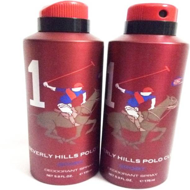 BEVERLY HILLS POLO CLUB 1 Deodorant Spray  -  For Men
