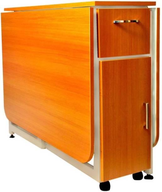 InnoFur Forito Double Engineered Wood Office Table