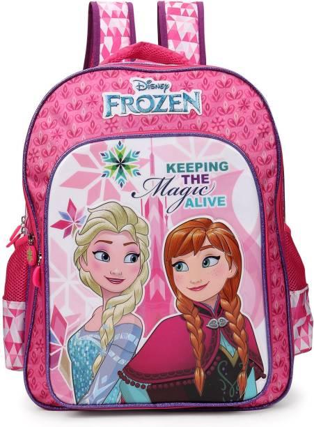 688ef217533f Disney Frozen Magic Pink 16 inch School Bag