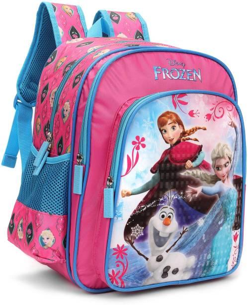 253d708ebd Disney Frozen Trio Pink and Blue 16    School Bag