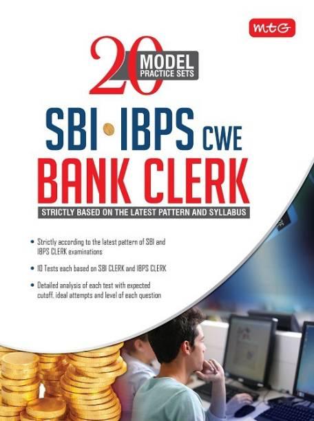 20 Model Practice Sets SBI-IBPS-CWE Bank Clerk