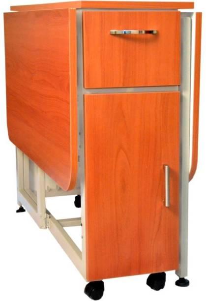 InnoFur Forito Single Engineered Wood Office Table