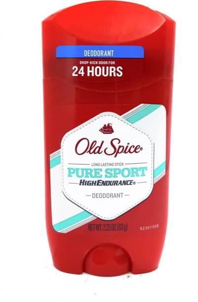 OLD SPICE Original Pure Sport High Endurance Deodorant Stick - 63g(2.25oz) Deodorant Stick  -  For Men & Women