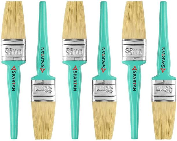 Spartan Paint Brush Multicolour Set Of 6 38 Mm Natural Wall