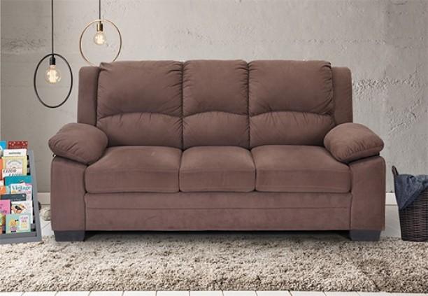 Charmant RoyalOak Magna Fabric 3 Seater Sofa
