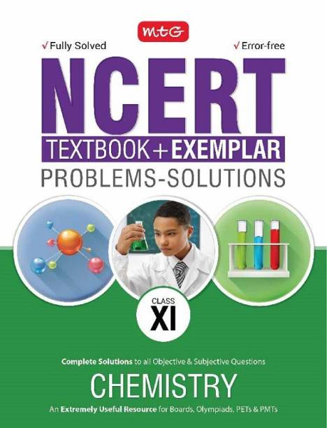 NCERT Text Book + Exemplar Problems - Solutions Chemistry Class 11 with 0 Disc