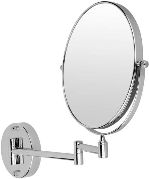DOLPHY Silver 5x Shaving and Make-up (8 inch) Magnifying Mirror