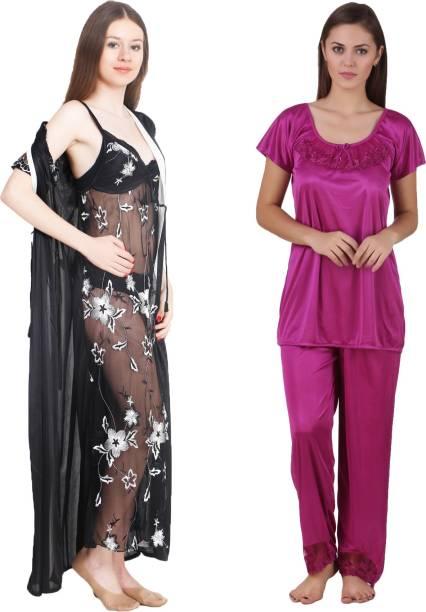 Cotton Nighties - Buy Cotton Night Dresses Nighties Online at Best ... 96c2313ba