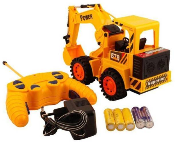 Kashti vaibhavi enterprise multicolor Control Jcb Construction Loader Excavator Truck Toy