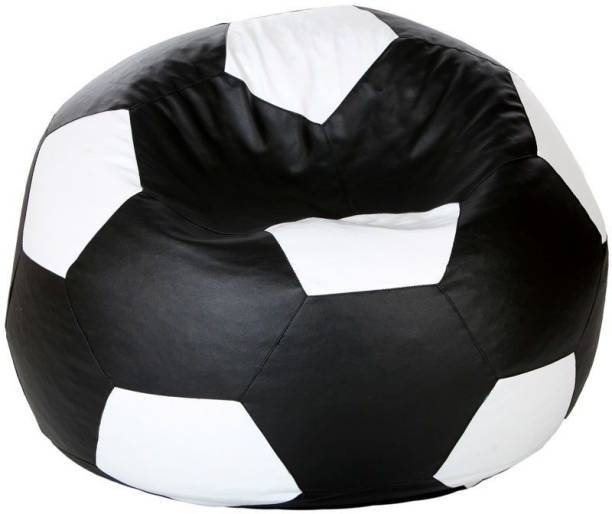 Tradesk XXXL Chair Bean Bag Cover  (Without Beans)