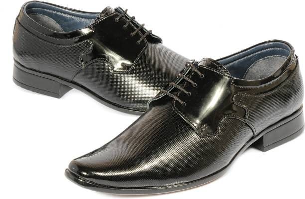 1f15671e46c Kivalo Premium Genuine Leather Formal Casual Elegant Shoes All Occasions  Derby For Men