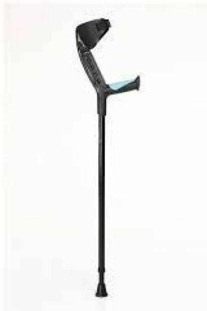 TYNOR Soft Handle Elbow adjustable Crutch Walking Stick