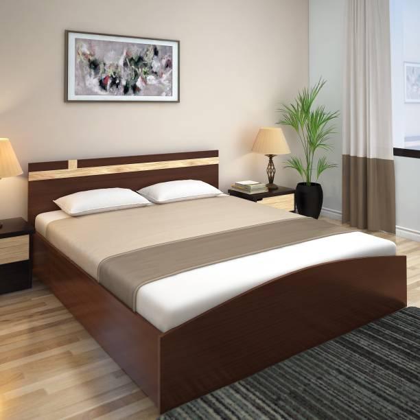 Nill Edwina 01 Engineered Wood Queen Bed