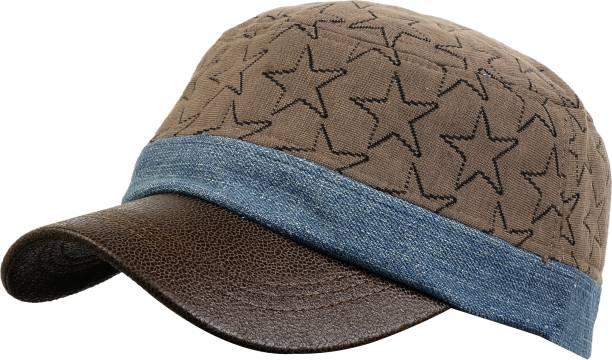 09c97b5694b ZACHARIAS Printed Cotton Summer Baseball Adjustable Printed Sun Brown Cap
