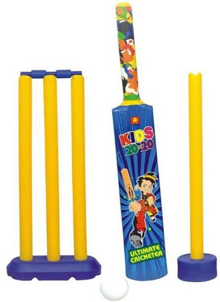 Adi Trading Senior Bat Ball Set Cricket Kit / Senior Cricket Set-Nippon by Adi Cricket Kit