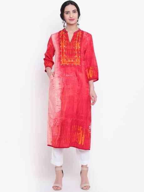 97752d043 Red Kurtas - Buy Red Kurtas Online at Best Prices In India ...
