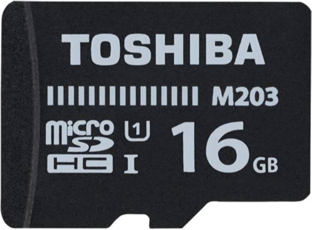 Toshiba M203 16 GB MicroSD Card Class 10 100 MB/s Memory Card