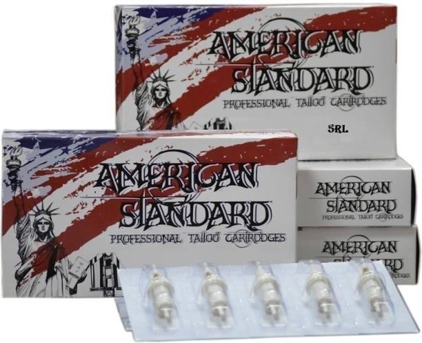 American Standard Tattoo Cartridge Needle 1205RL Disposable Round Liner Tattoo Needles