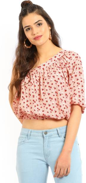 d219acee005 Forever 21 Tops - Buy Forever 21 Tops Online at Best Prices In India ...