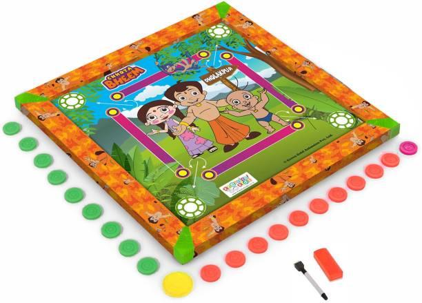 CHHOTA BHEEM Kids Carrom Board (20x20 inch) Carrom Board Board Game
