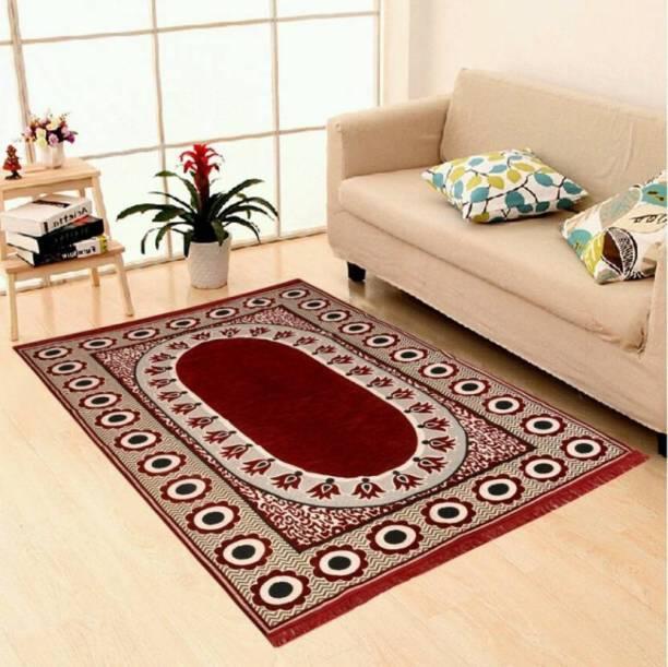 Zesture Multicolor Chenille Carpet