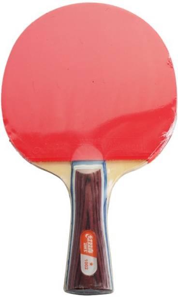 DHS TT Bat A1002 Red, Black Table Tennis Racquet