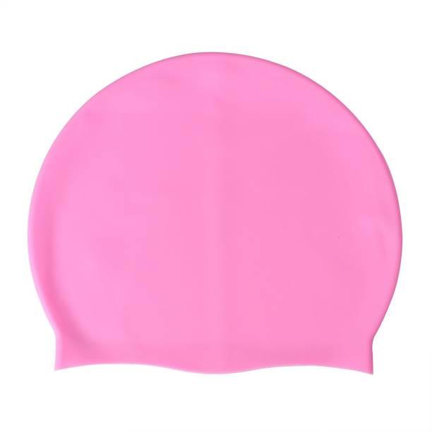 8eb0f4b8d85 Xerobic Stylish Silicone Solid Waterproof Swim Cap for Men Women Youth &  Children Basic Non-