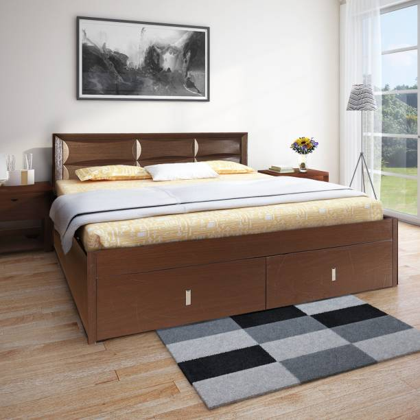 Hometown Engineered Wood King Hydraulic Bed