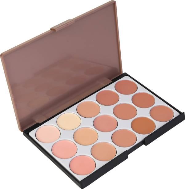 M.A.R.S Contour Bronze Highlight Palette  Concealer