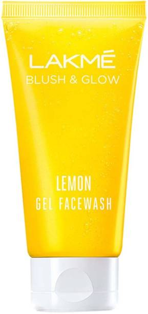 Lakmé Blush and Glow Lemon Gel Face Wash