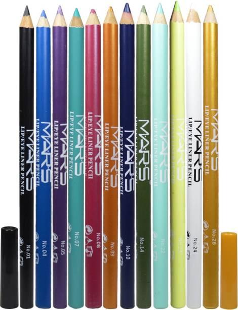 M.A.R.S Eye&Lip Liner LP01 Pack of 12