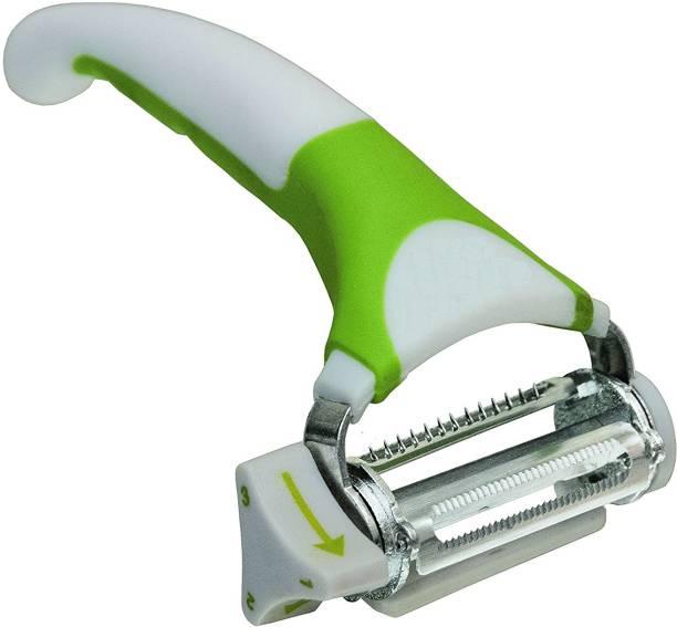 CONTINENTAL 396-1 Triple Slicer Stainless Steel Blade Vegetable and Fruit Peeler Y Shaped Peeler