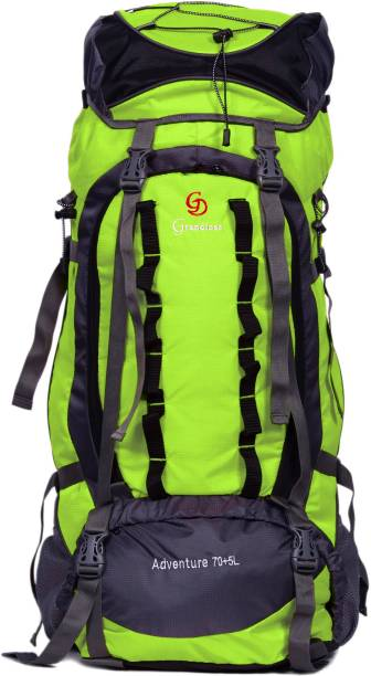42969f9dae3f GRANDIOSE 75L Front Open Model Parrot Green Hiking Backpack   Rucksack  (GTB67502PG) Rucksack -